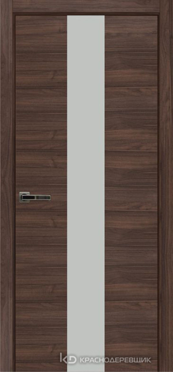 Экселент НочеДугласCPL горизонт Дверь ЭМ04 ДО, 21- 9, MatelacСильвер, Без фурн/фрез, Прямой притвор