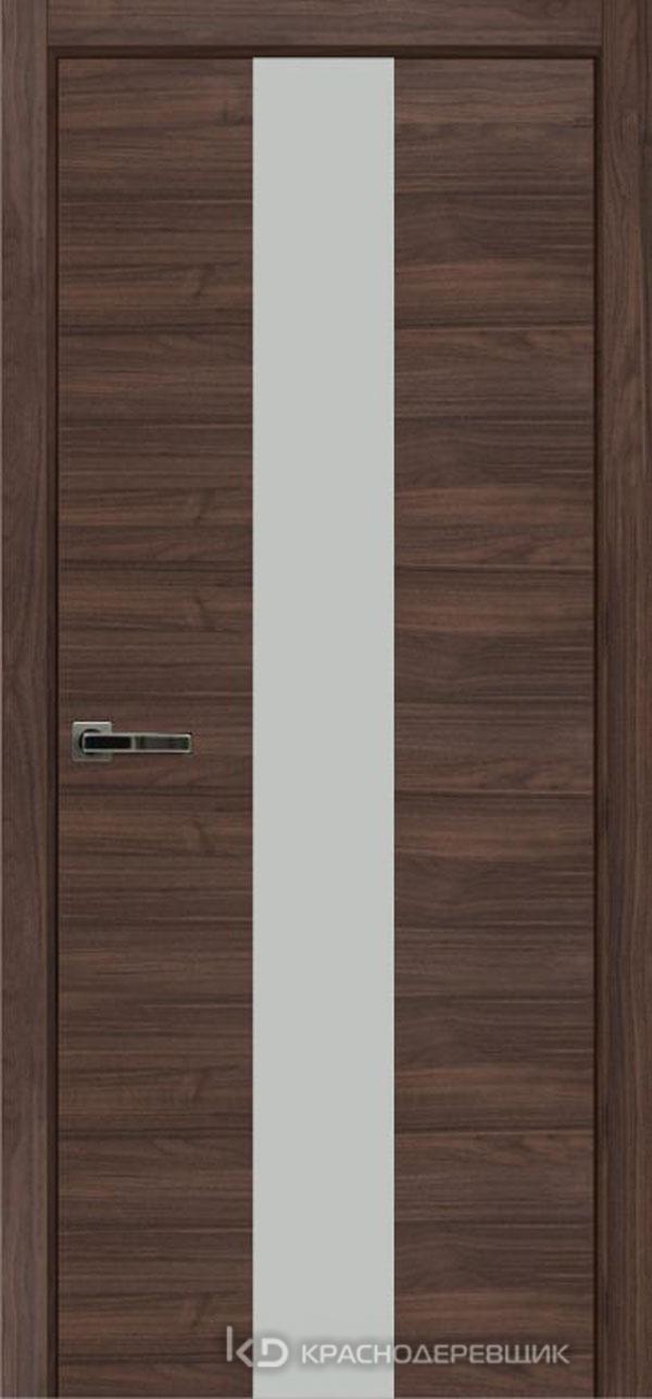Экселент НочеДугласCPL горизонт Дверь ЭМ04 ДО, 21- 9, MatelacСильвер, с магн.зам AGB B041035034 п/цил, хром; Без фрезеровки под петли, Прямой притвор