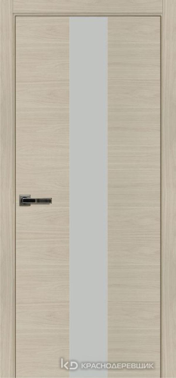 Экселент НочеСорентоCPL горизонт Дверь ЭМ04 ДО, 21- 9, MatelacСильвер, с фрез.под мех RENZ INLB96PLINDC п/фик, хром и 2 скр.петли IN301090, Прям.прит