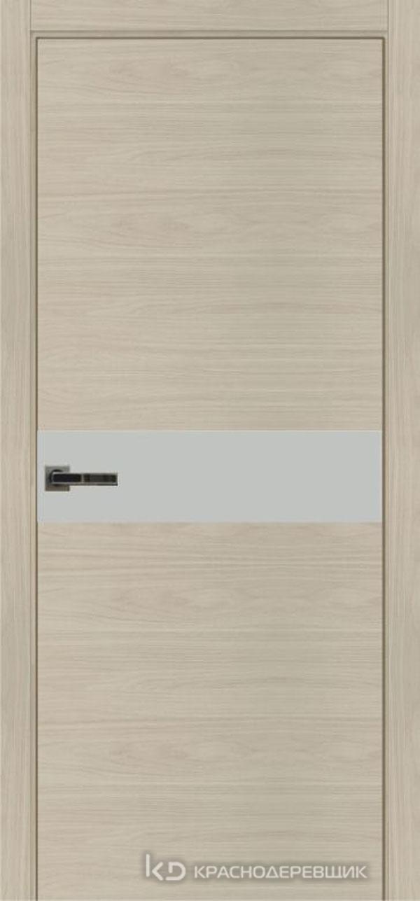 Экселент НочеСорентоCPL горизонт Дверь ЭМ11 ДО, 21- 9, MatelacСильвер, с фрез.под мех RENZ INLB96PLINDC п/фик, хром и 2 скр.петли IN301090, Прям.прит