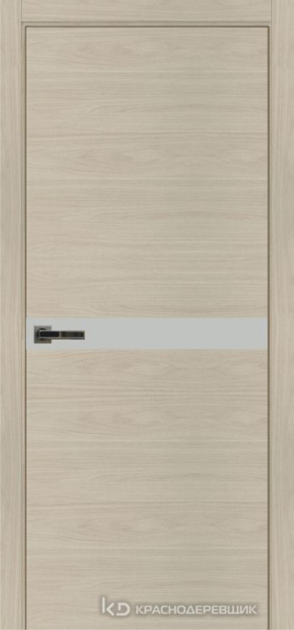 Экселент НочеСорентоCPL горизонт Дверь ЭМ12 ДО, 21- 9, MatelacСильвер, с фрез.под мех RENZ INLB96PLINDC п/фик, хром и 2 скр.петли IN301090, Прям.прит