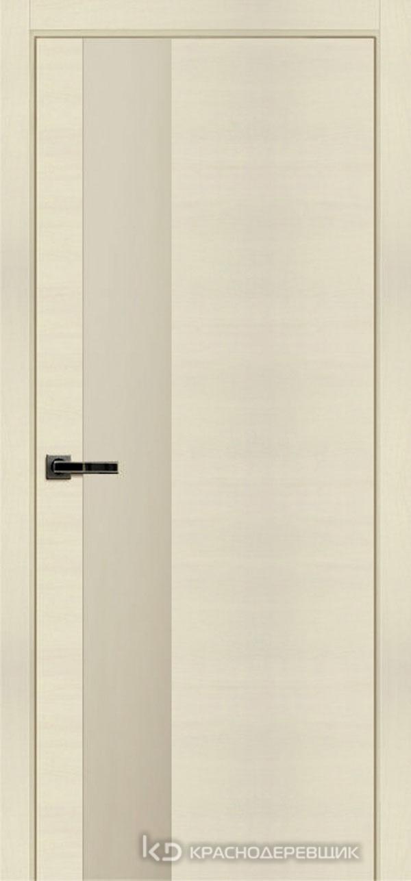 Экселент ОльмЛучиCPL горизонт Дверь ЭМ10 ДО, 21- 9, LacobelЖемч, с магн.замком AGB B041035034 п/цил, хром; Без фрезеровки под петли, Прямой притвор