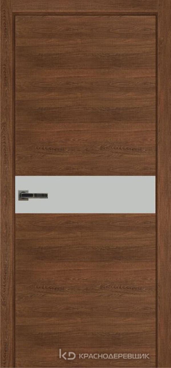 Экселент РовереСегатаCPL горизонт Дверь ЭМ11 ДО, 21- 9, MatelacСильвер, Без фурн/фрез, Прямой притвор