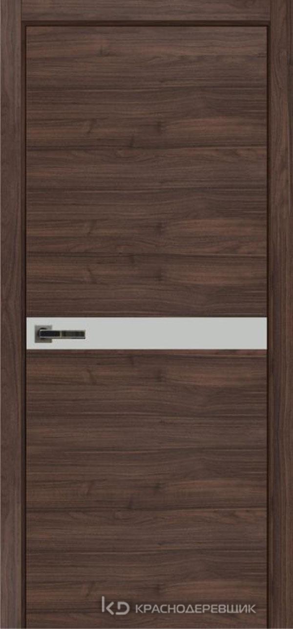 Экселент НочеДугласCPL горизонт Дверь ЭМ12 ДО, 21- 9, MatelacСильвер, с фрез.под мех.RENZ INLB96PLINDC п/фикс, хр и 2 скр.петли IN301090, Прямой прит