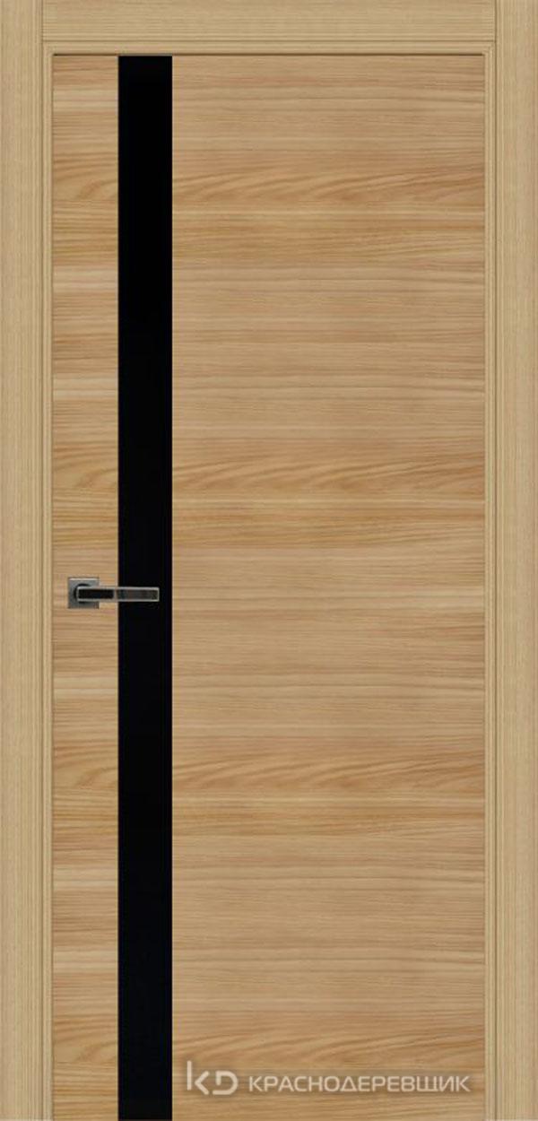 Экселент ИльмSL горизонт Дверь ЭМ01 ДО, 21- 9, LacobelЧерный, с фрез.под мех.зам RENZ INLB96PLINDC п/фикс, хром и 2 скр.петли IN301090, Прямой притвор