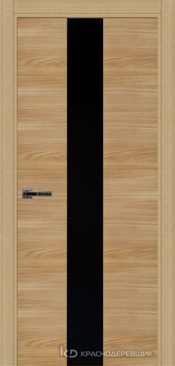 Экселент ИльмSL горизонт Дверь ЭМ04 ДО, 21- 9, LacobelЧерный, с фрез.под мех.зам RENZ INLB96PLINDC п/фикс, хром и 2 скр.петли IN301090, Прямой притвор
