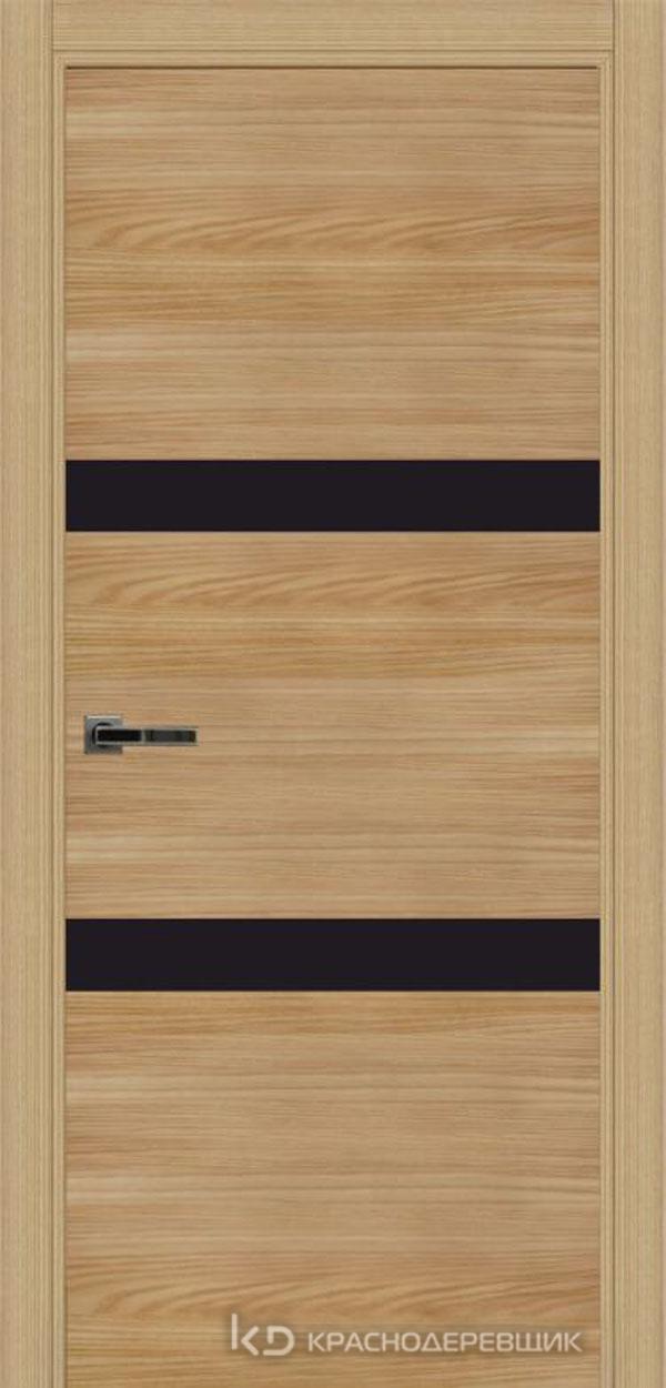 Экселент ИльмSL горизонт Дверь ЭМ09 ДО, 21- 9, LacobelЧерный, с фрез.под мех.зам RENZ INLB96PLINDC п/фикс, хром и 2 скр.петли IN301090, Прямой притвор