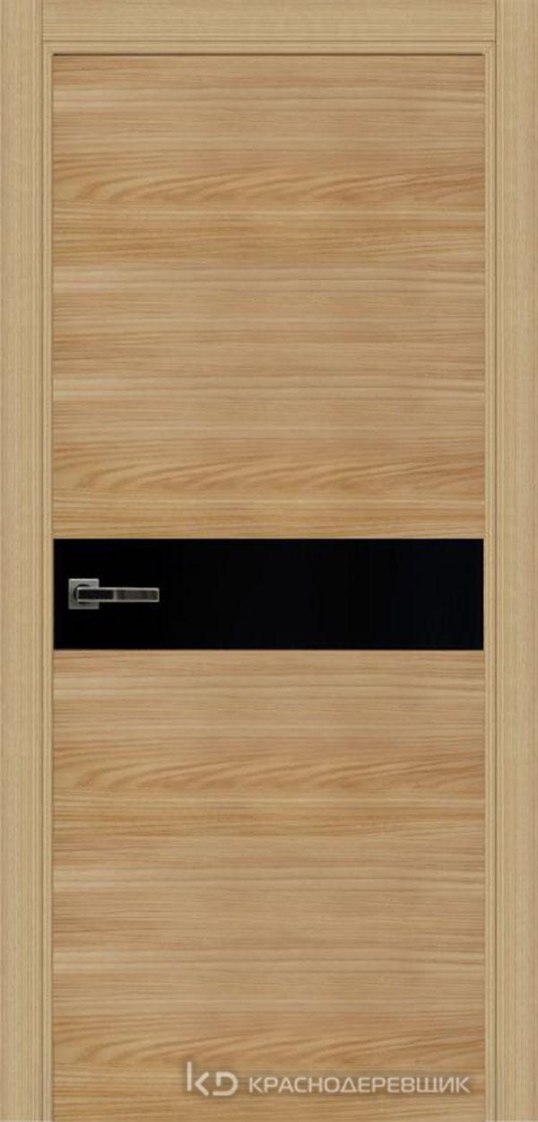 Экселент ИльмSL горизонт Дверь ЭМ11 ДО, 21- 9, LacobelЧерный, с фрез.под мех.зам RENZ INLB96PLINDC п/фикс, хром и 2 скр.петли IN301090, Прямой притвор