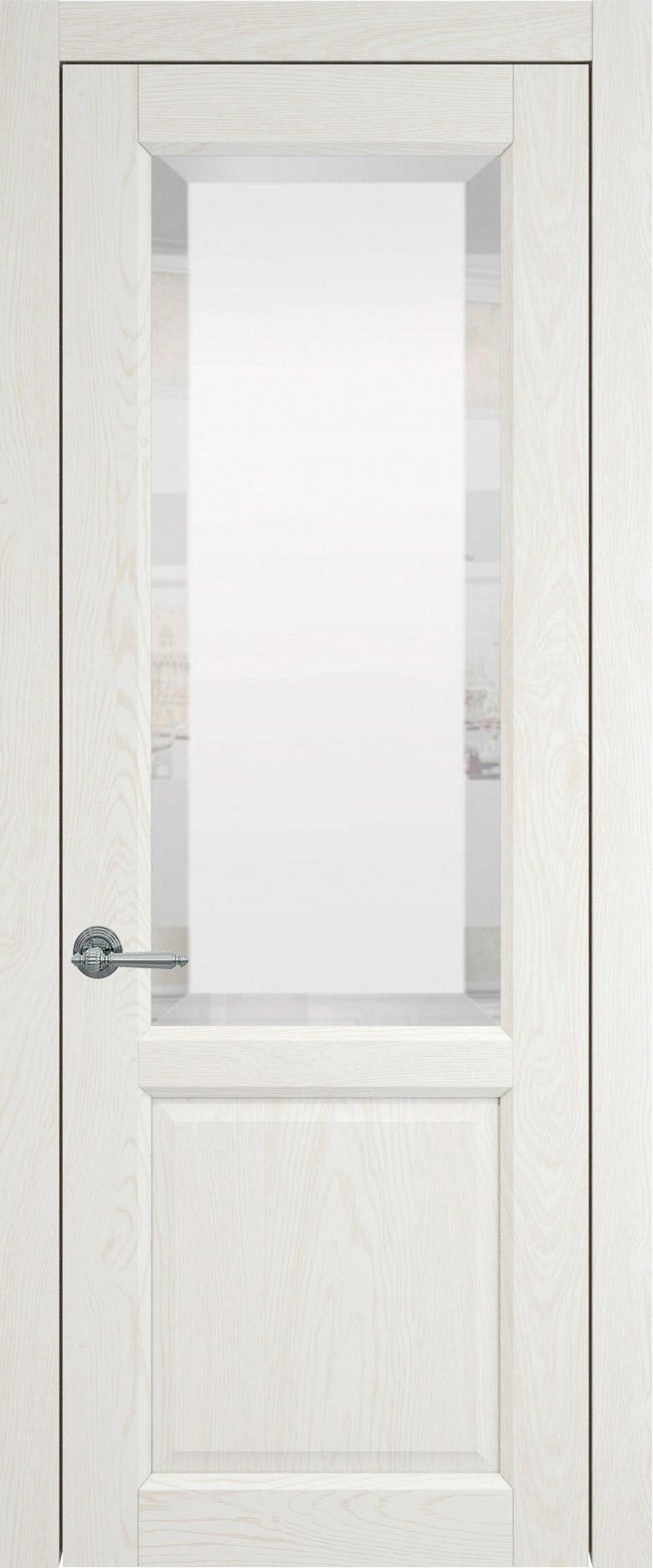 Dinastia цвет - Белый ясень (шпон) Со стеклом (ДО)