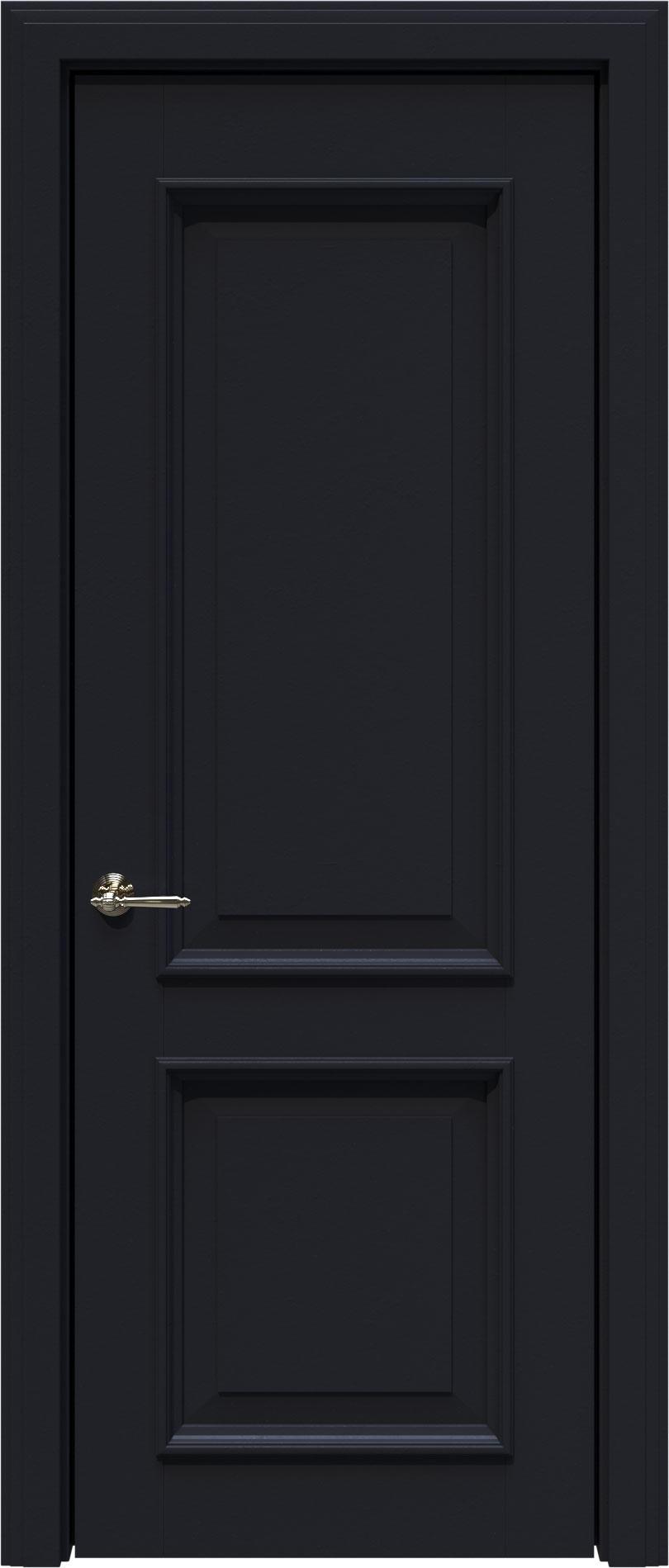 Dinastia LUX цвет - Черная эмаль (RAL 9004) Без стекла (ДГ)