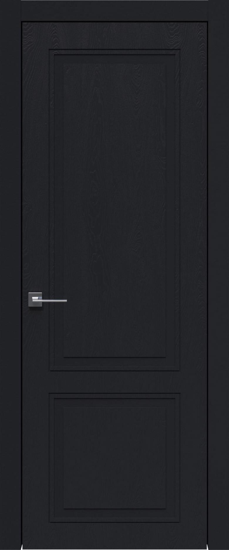 Dinastia Neo Classic цвет - Черная эмаль по шпону (RAL 9004) Без стекла (ДГ)