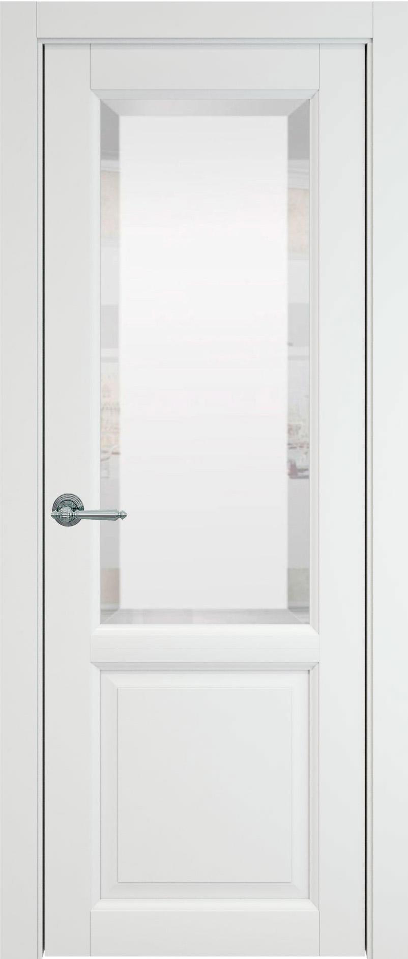 Dinastia цвет - Белая эмаль (RAL 9003) Со стеклом (ДО)