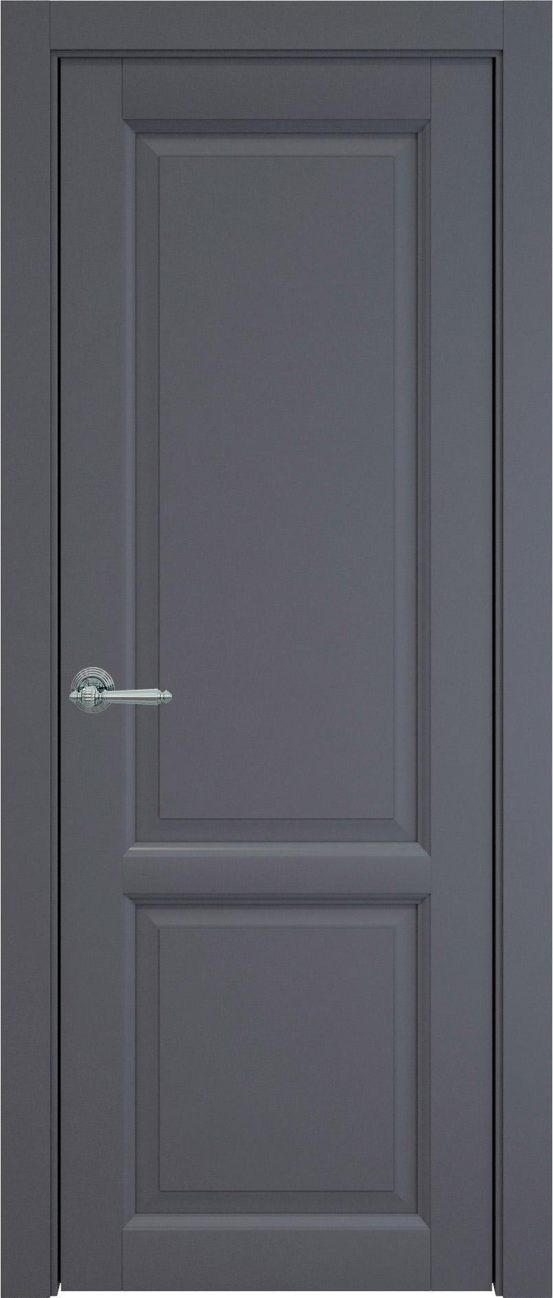 Dinastia цвет - Графитово-серая эмаль (RAL 7024) Без стекла (ДГ)
