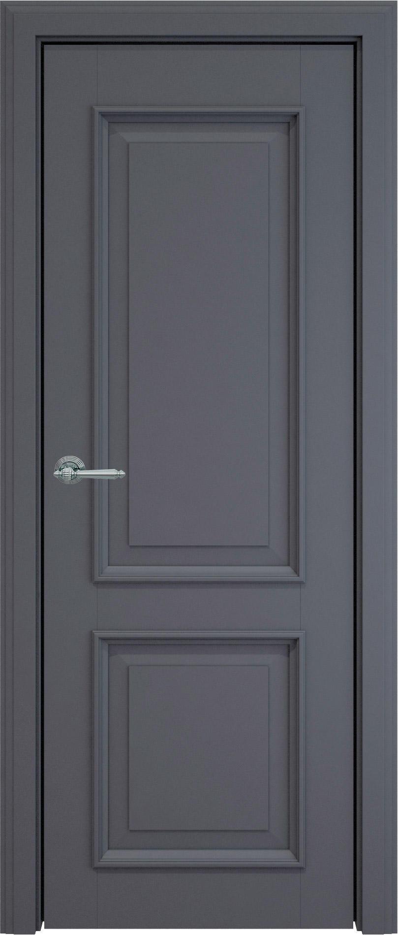 Dinastia LUX цвет - Графитово-серая эмаль (RAL 7024) Без стекла (ДГ)