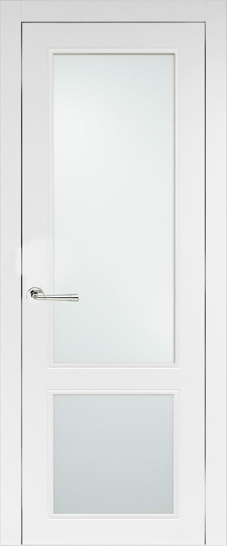 Dinastia Neo Classic цвет - Белая эмаль (RAL 9003) Со стеклом (ДО)