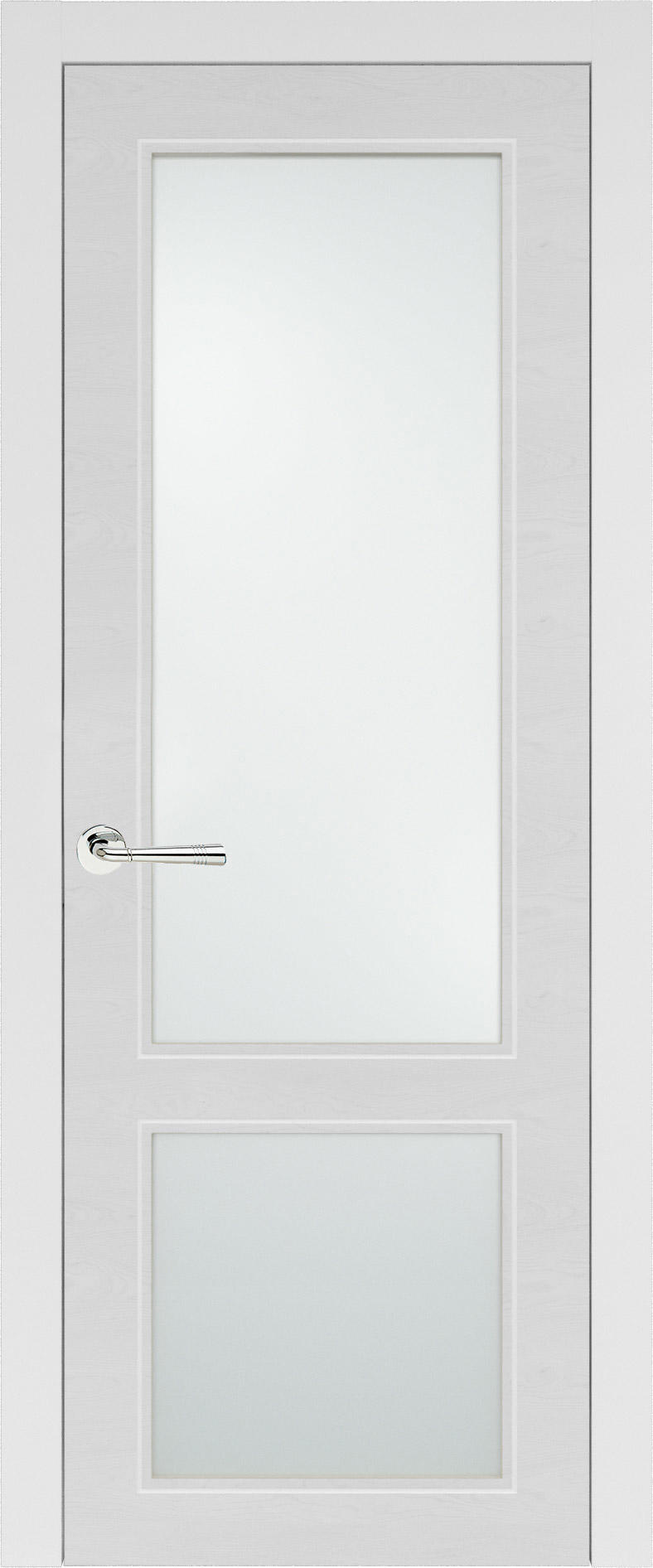 Dinastia Neo Classic цвет - Белая эмаль по шпону (RAL 9003) Со стеклом (ДО)