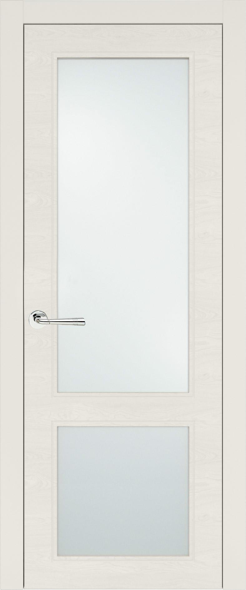 Dinastia Neo Classic цвет - Бежевая эмаль по шпону (RAL 9010) Со стеклом (ДО)
