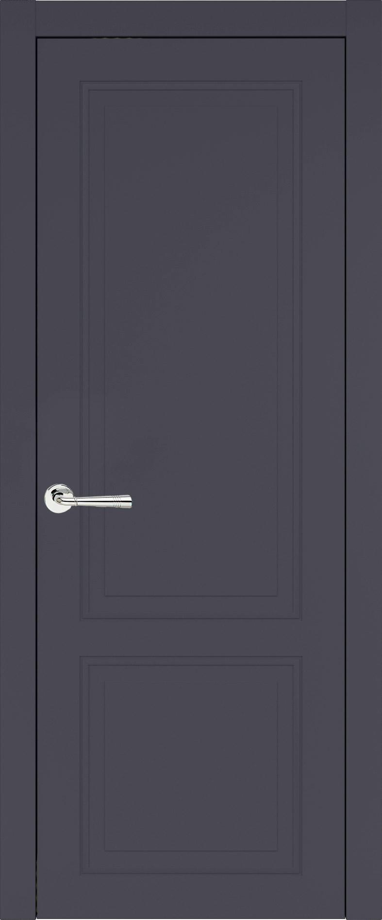 Dinastia Neo Classic цвет - Графитово-серая эмаль (RAL 7024) Без стекла (ДГ)