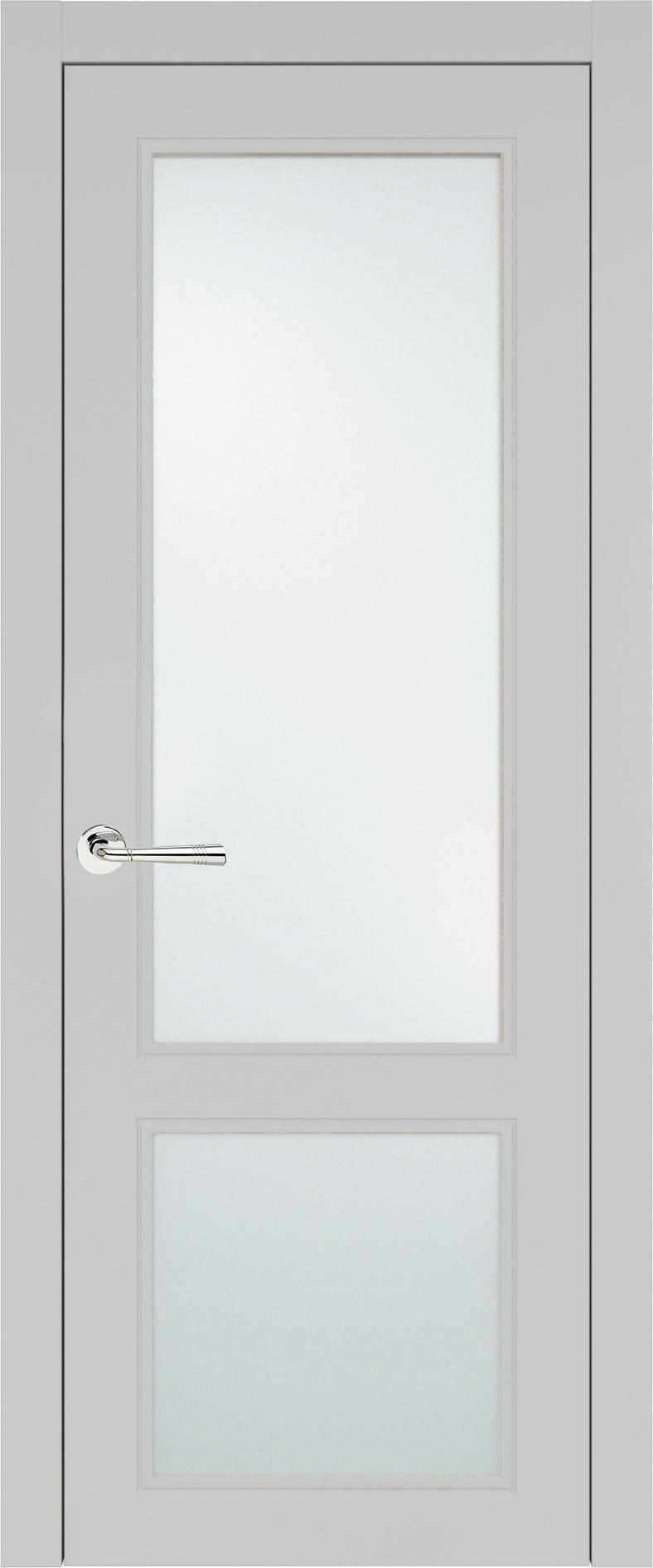 Dinastia Neo Classic цвет - Серая эмаль (RAL 7047) Со стеклом (ДО)