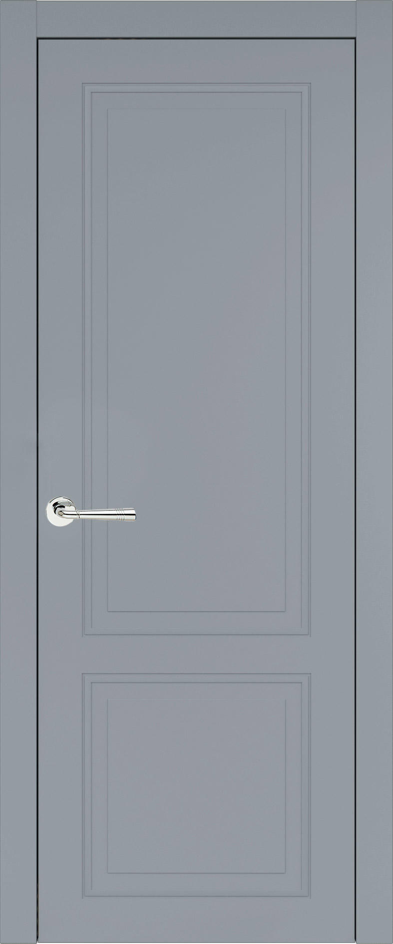 Dinastia Neo Classic цвет - Серебристо-серая эмаль (RAL 7045) Без стекла (ДГ)