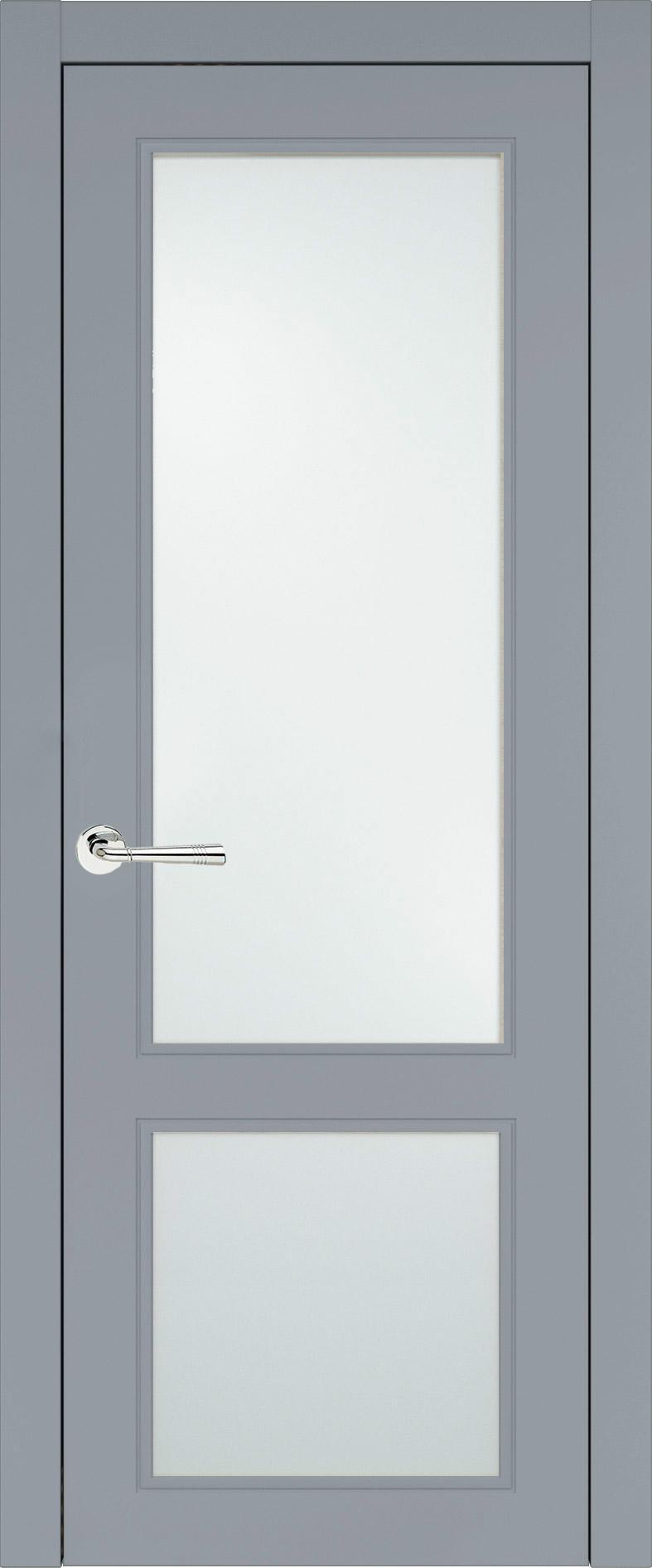 Dinastia Neo Classic цвет - Серебристо-серая эмаль (RAL 7045) Со стеклом (ДО)