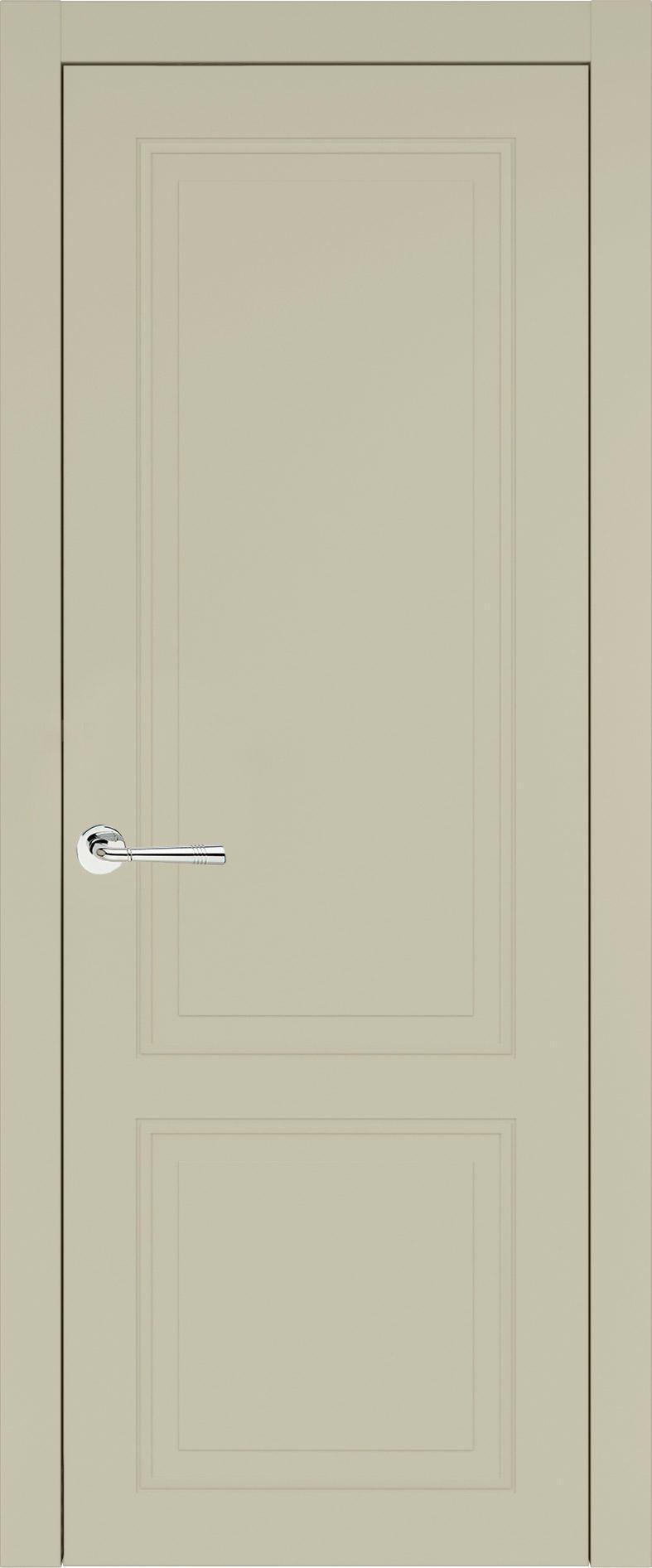 Dinastia Neo Classic цвет - Серо-оливковая эмаль (RAL 7032) Без стекла (ДГ)