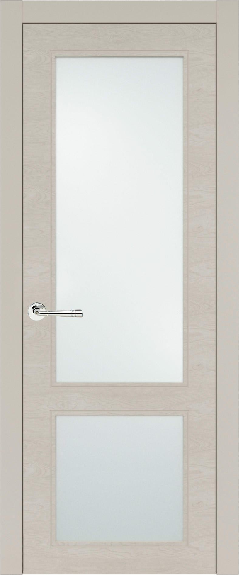 Dinastia Neo Classic цвет - Жемчужная эмаль по шпону (RAL 1013) Со стеклом (ДО)