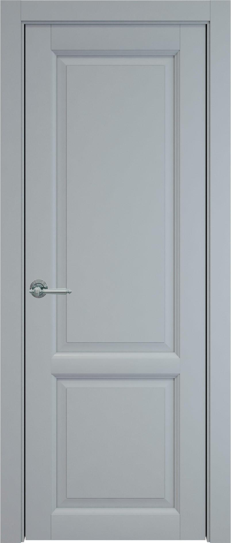 Dinastia цвет - Серебристо-серая эмаль (RAL 7045) Без стекла (ДГ)