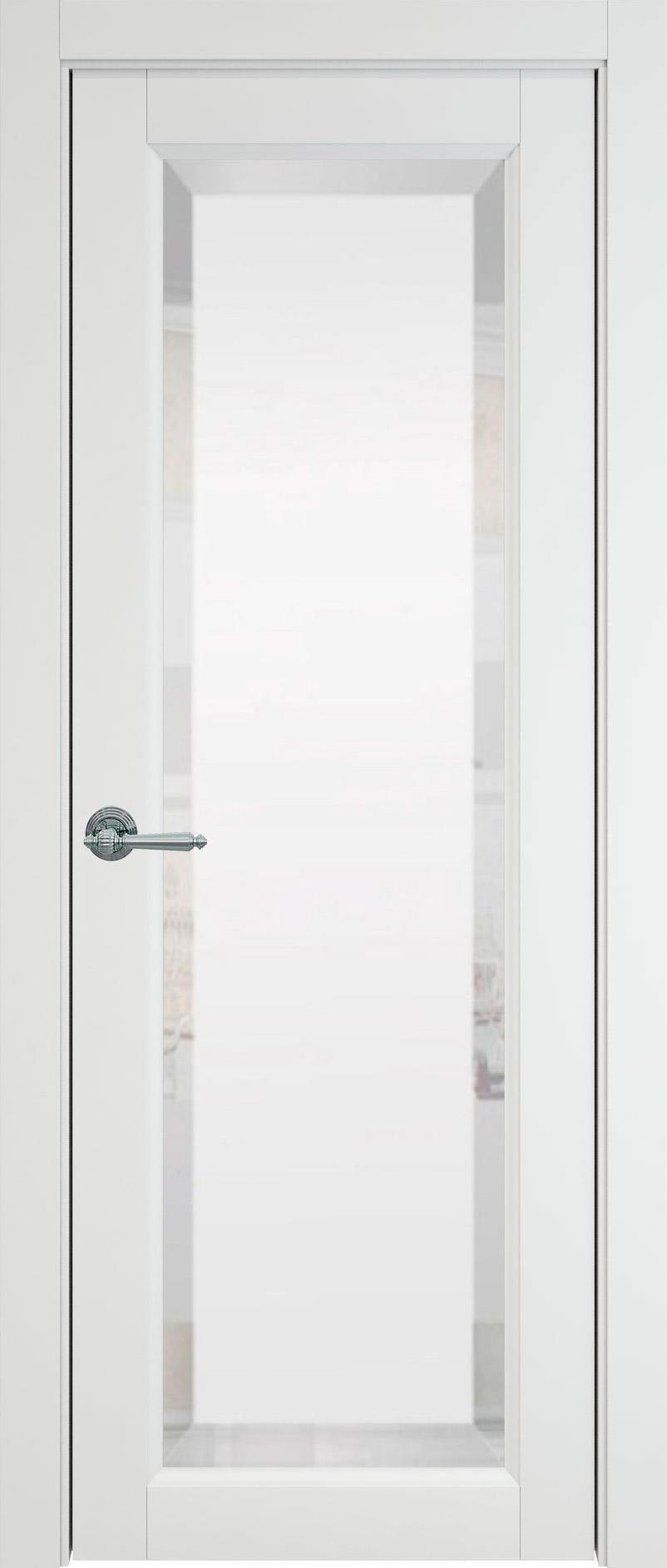 Domenica цвет - Белая эмаль (RAL 9003) Со стеклом (ДО)