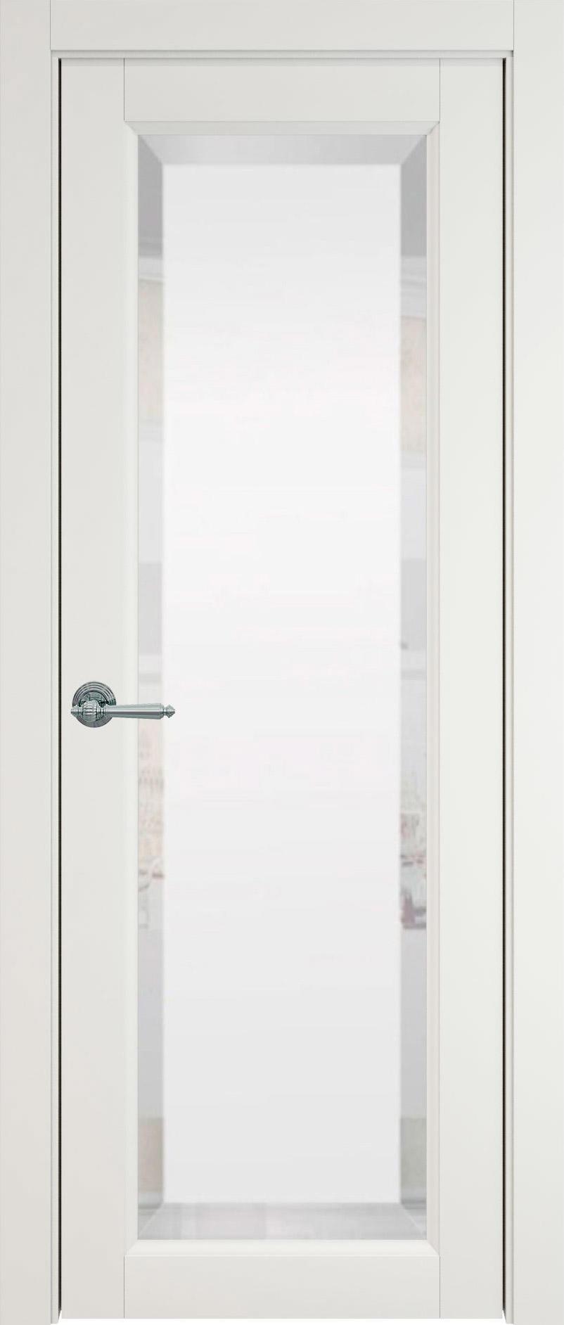 Domenica цвет - Бежевая эмаль (RAL 9010) Со стеклом (ДО)