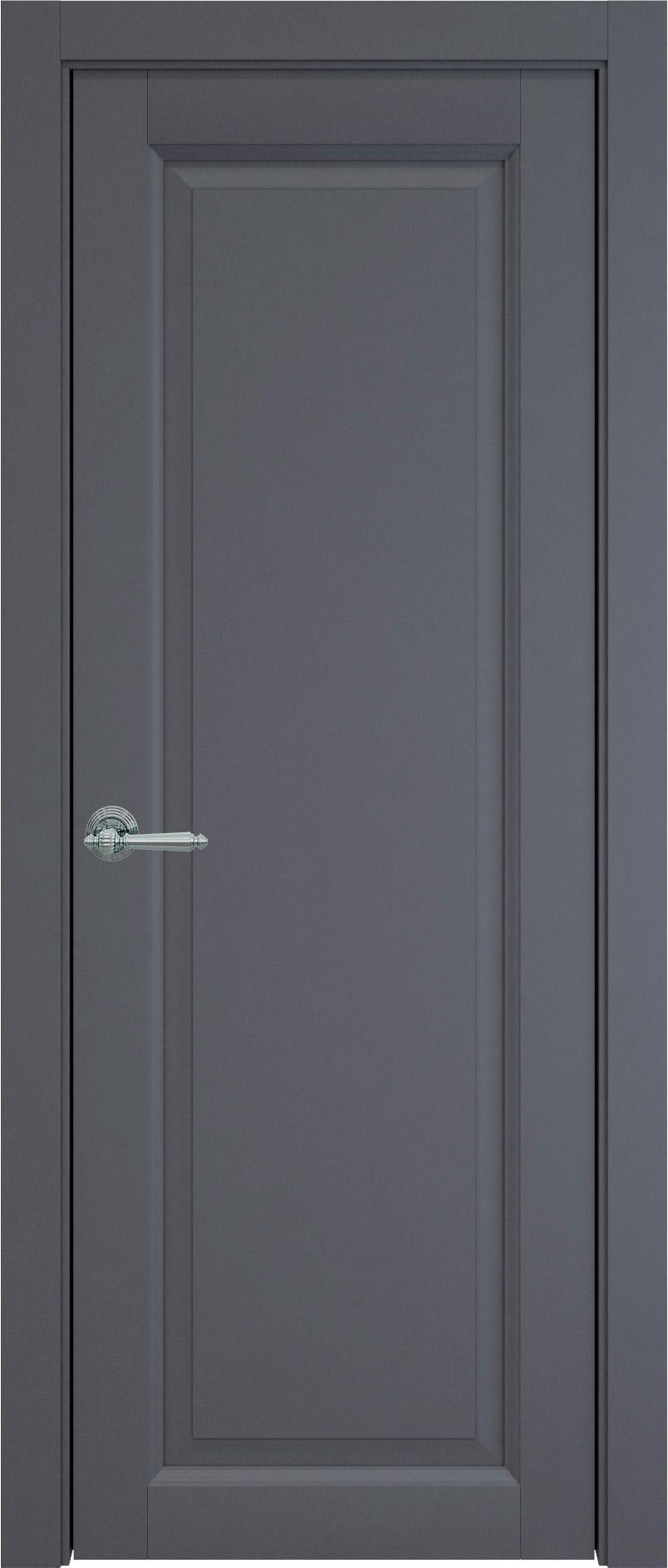 Domenica цвет - Графитово-серая эмаль (RAL 7024) Без стекла (ДГ)