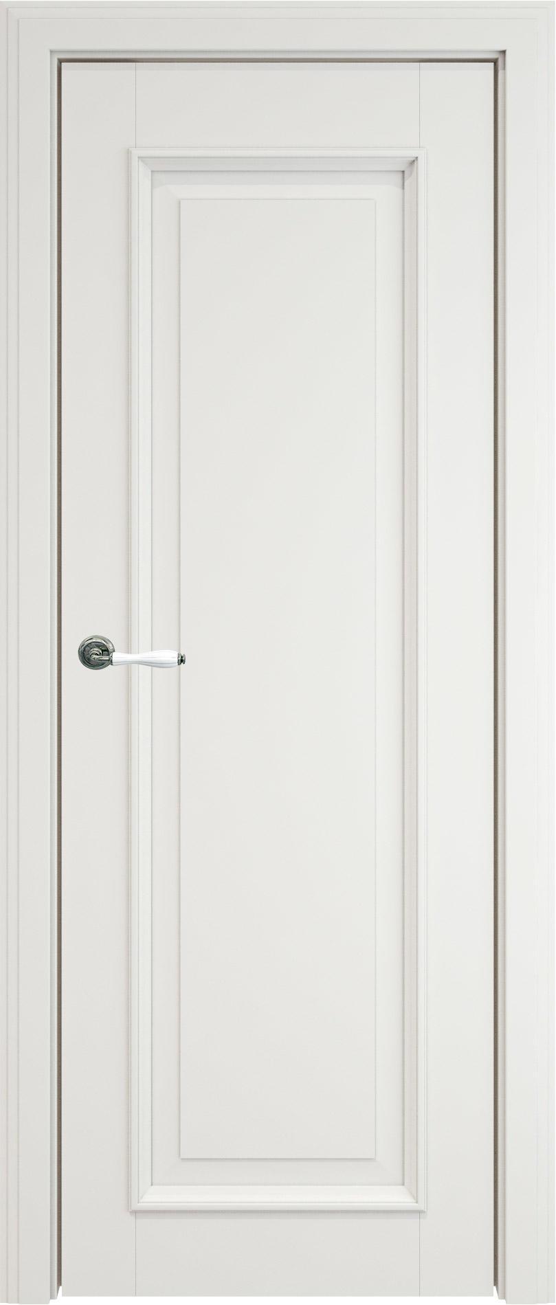 Domenica LUX цвет - Белая эмаль (RAL 9003) Без стекла (ДГ)