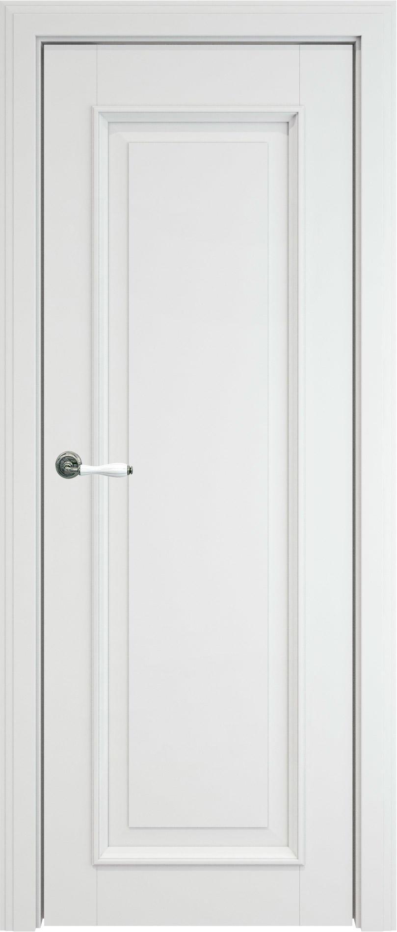 Domenica LUX цвет - Бежевая эмаль (RAL 9010) Без стекла (ДГ)