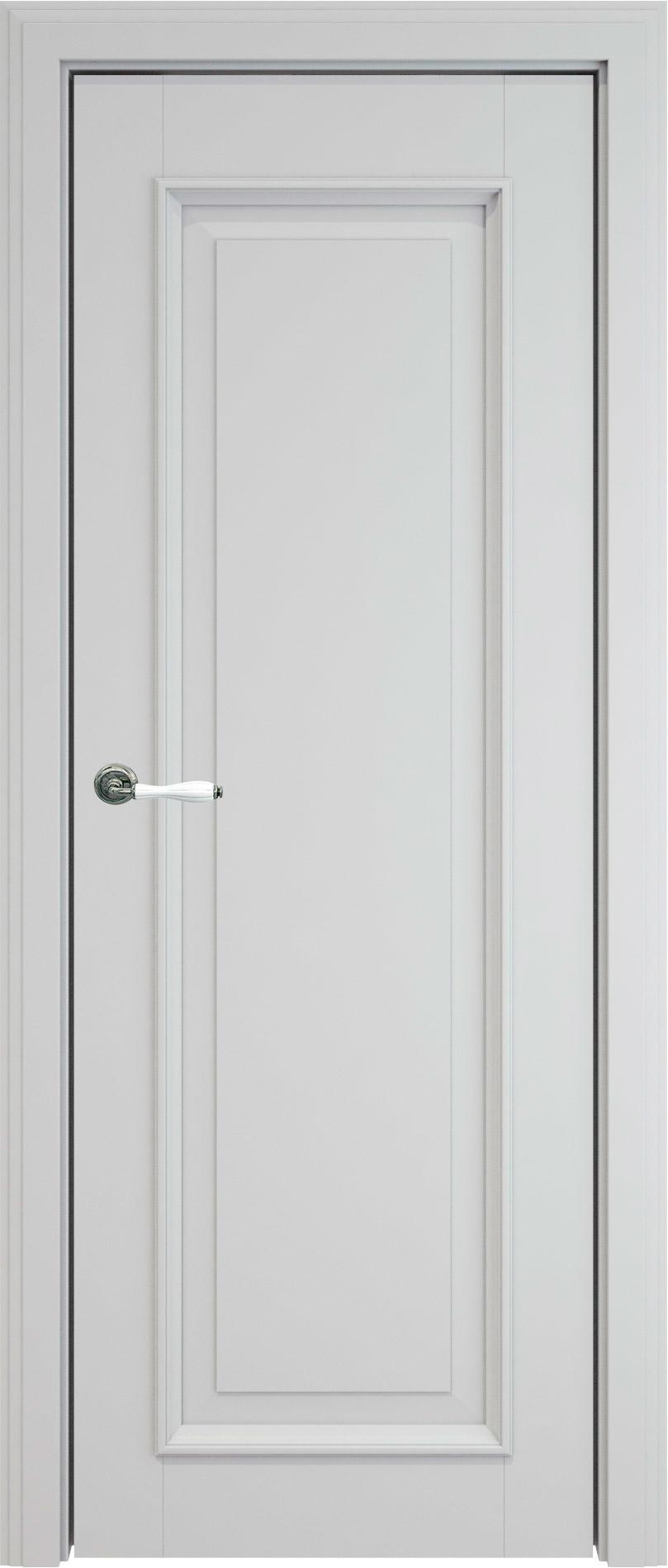 Domenica LUX цвет - Серая эмаль (RAL 7047) Без стекла (ДГ)