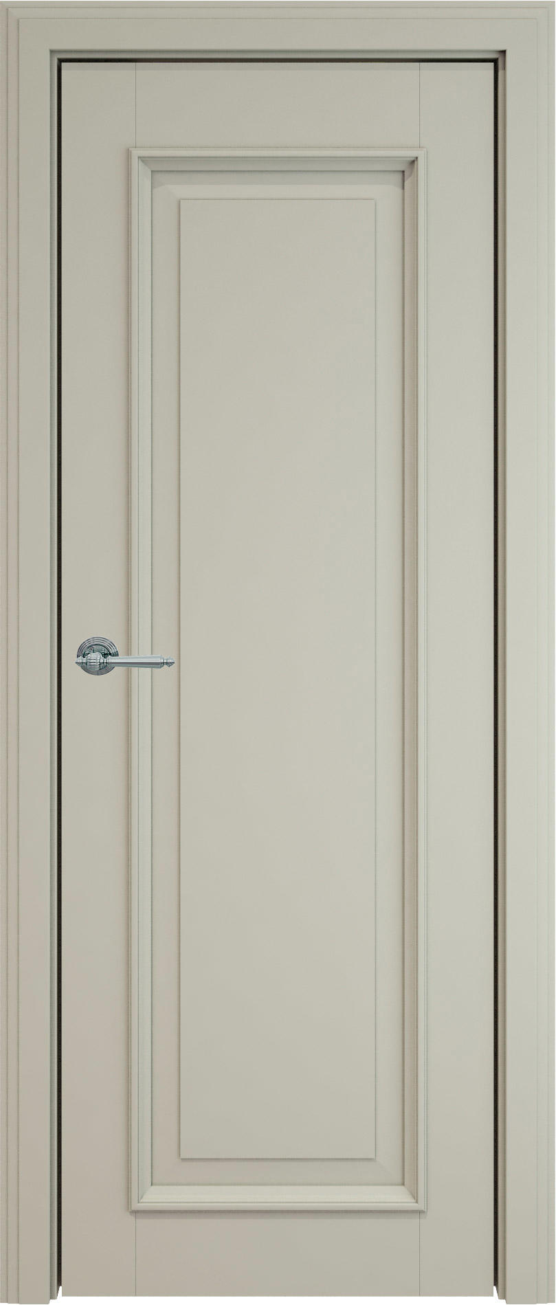 Domenica LUX цвет - Серо-оливковая эмаль (RAL 7032) Без стекла (ДГ)