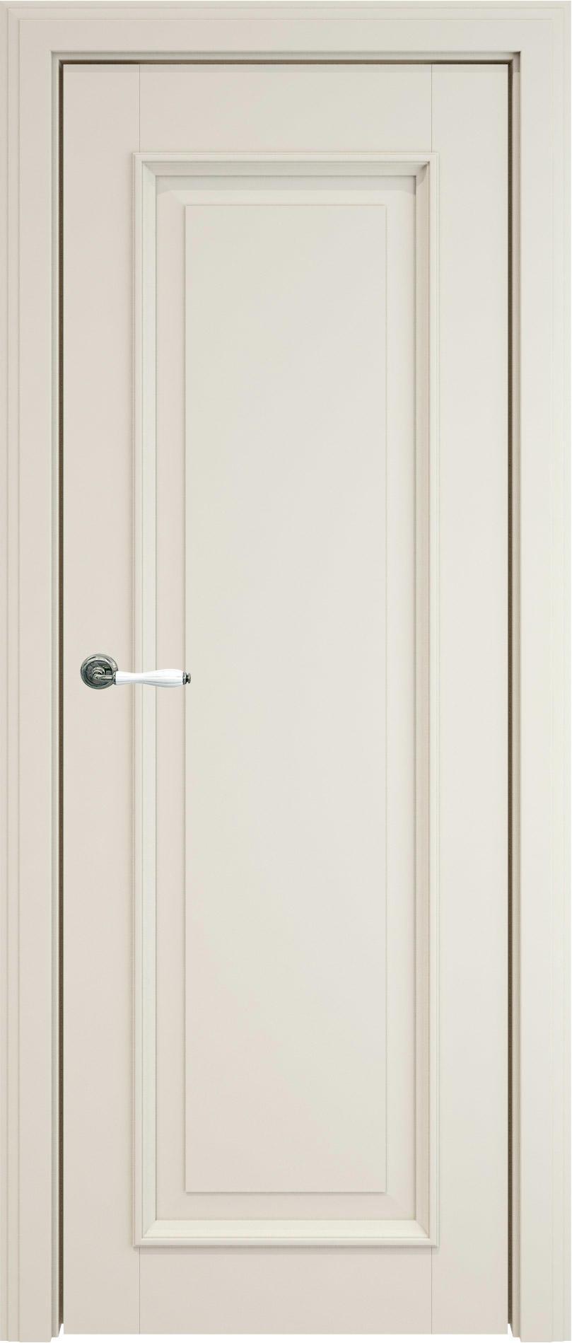 Domenica LUX цвет - Жемчужная эмаль (RAL 1013) Без стекла (ДГ)