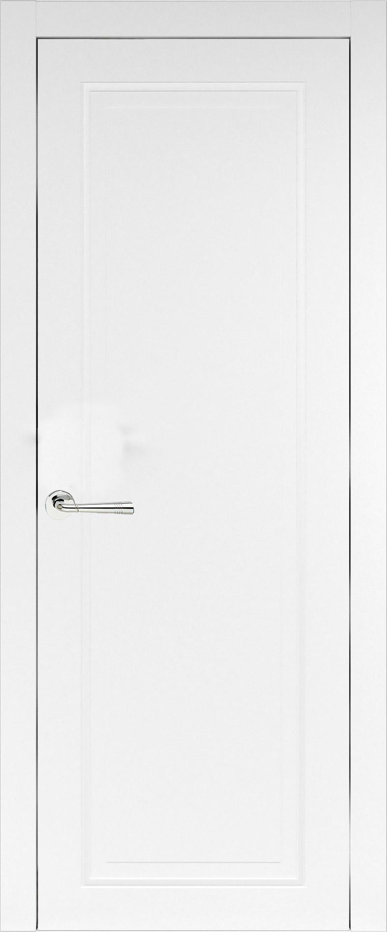 Domenica Neo Classic цвет - Белая эмаль (RAL 9003) Без стекла (ДГ)