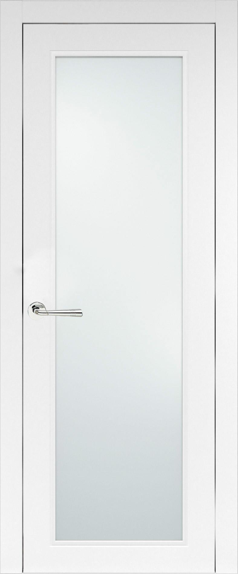 Domenica Neo Classic цвет - Белая эмаль (RAL 9003) Со стеклом (ДО)
