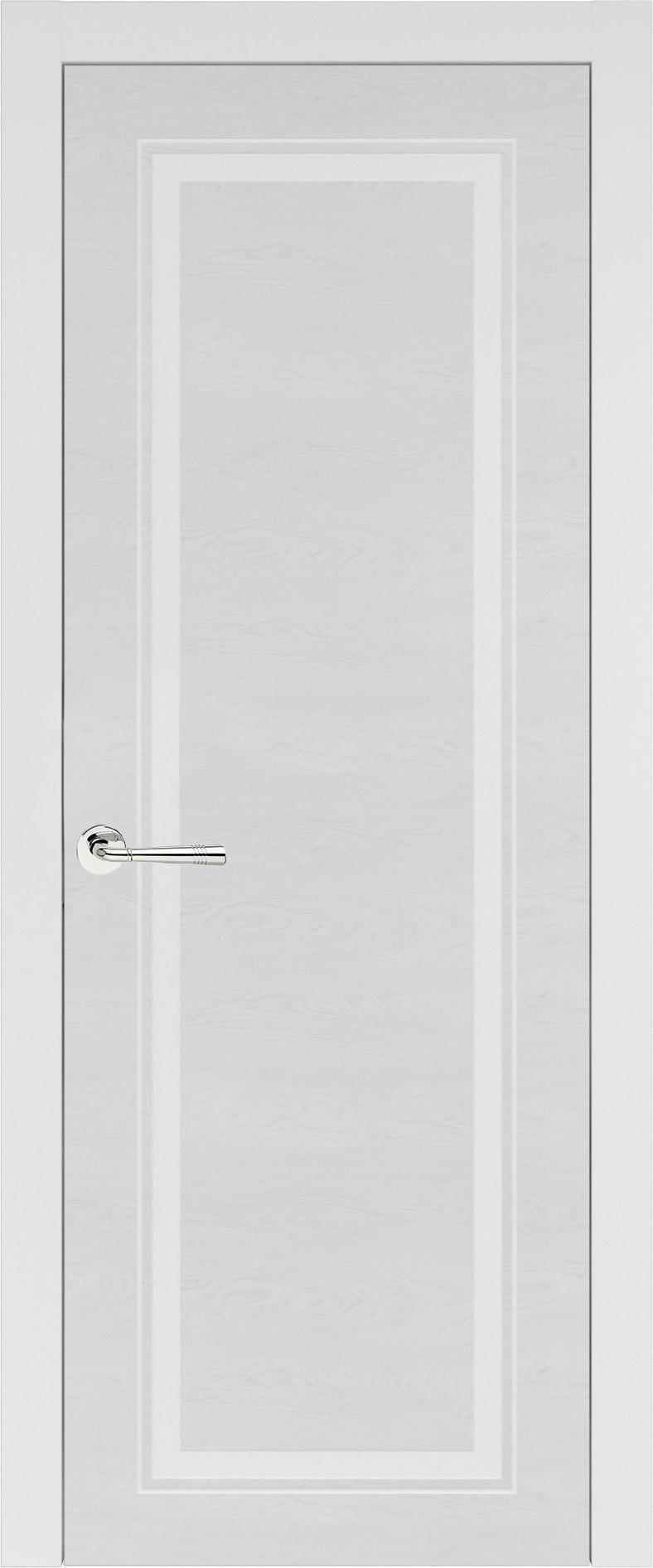 Domenica Neo Classic цвет - Белая эмаль по шпону (RAL 9003) Без стекла (ДГ)