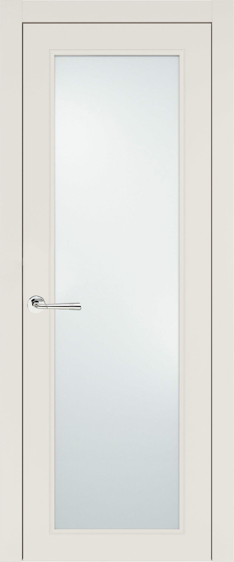 Domenica Neo Classic цвет - Бежевая эмаль (RAL 9010) Со стеклом (ДО)
