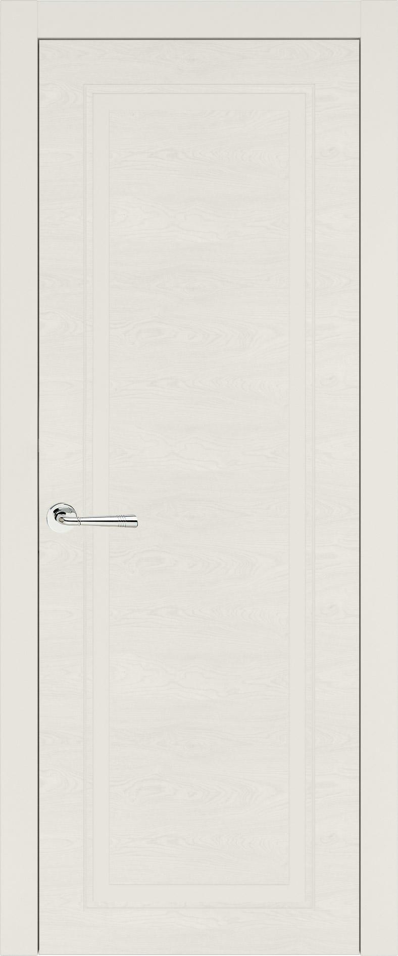 Domenica Neo Classic цвет - Бежевая эмаль по шпону (RAL 9010) Без стекла (ДГ)
