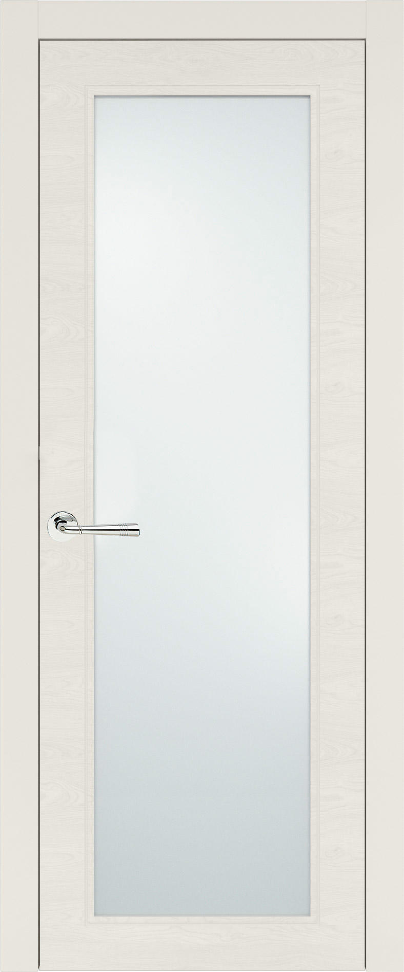 Domenica Neo Classic цвет - Бежевая эмаль по шпону (RAL 9010) Со стеклом (ДО)