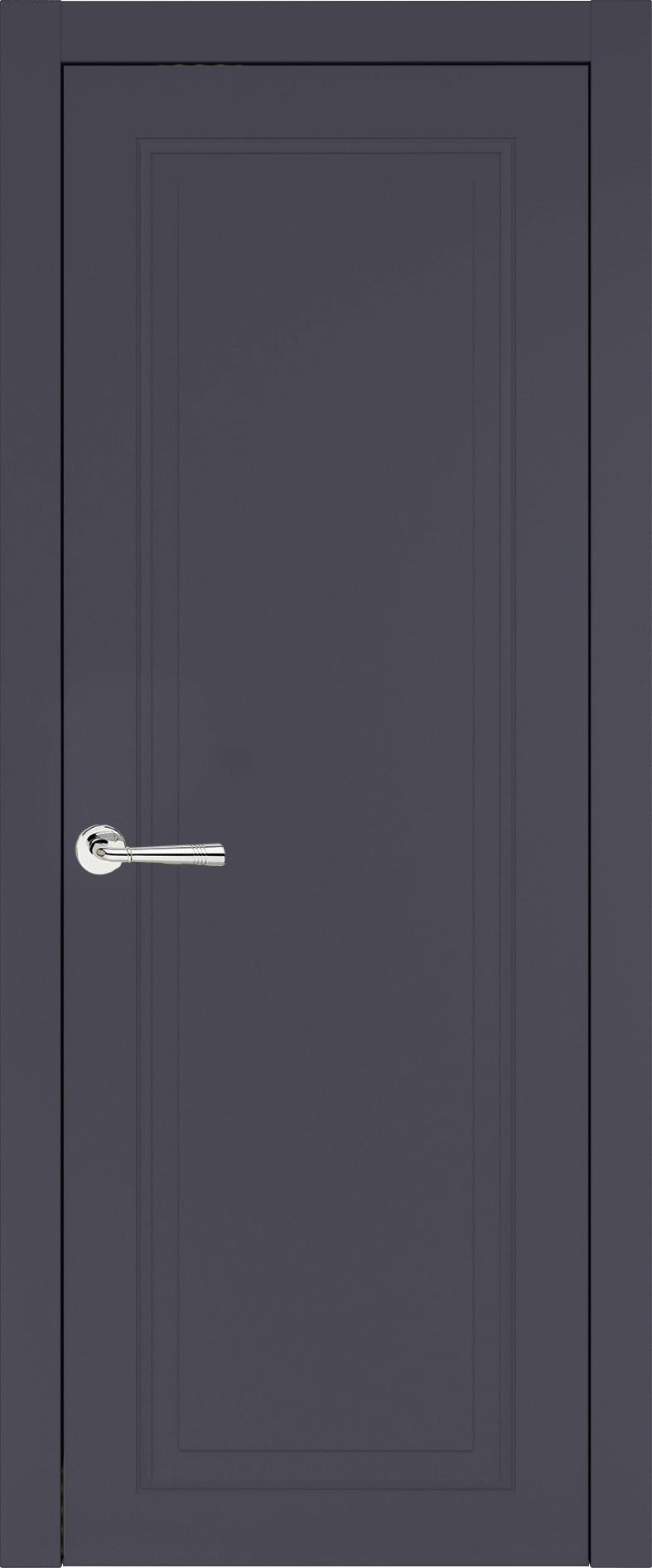 Domenica Neo Classic цвет - Графитово-серая эмаль (RAL 7024) Без стекла (ДГ)