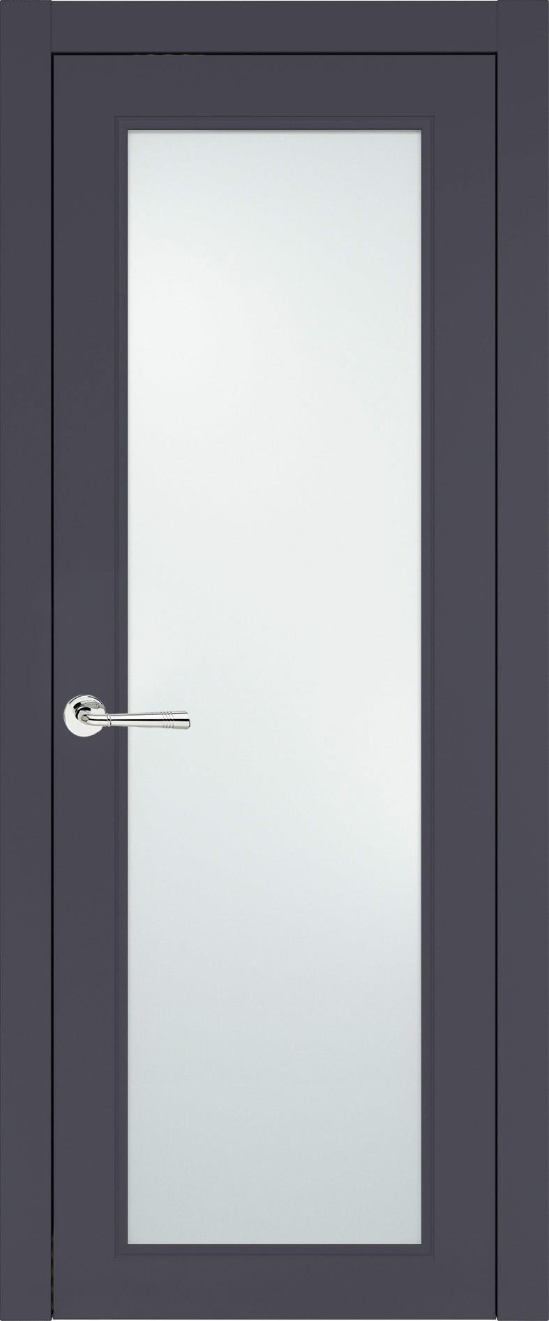 Domenica Neo Classic цвет - Графитово-серая эмаль (RAL 7024) Со стеклом (ДО)