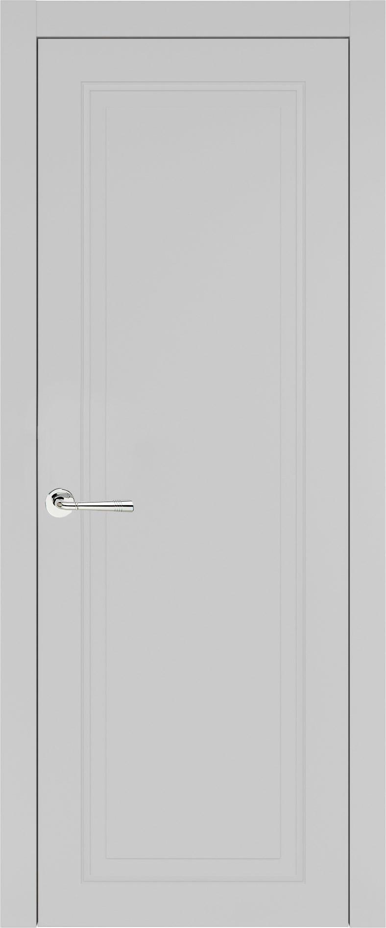 Domenica Neo Classic цвет - Серая эмаль (RAL 7047) Без стекла (ДГ)
