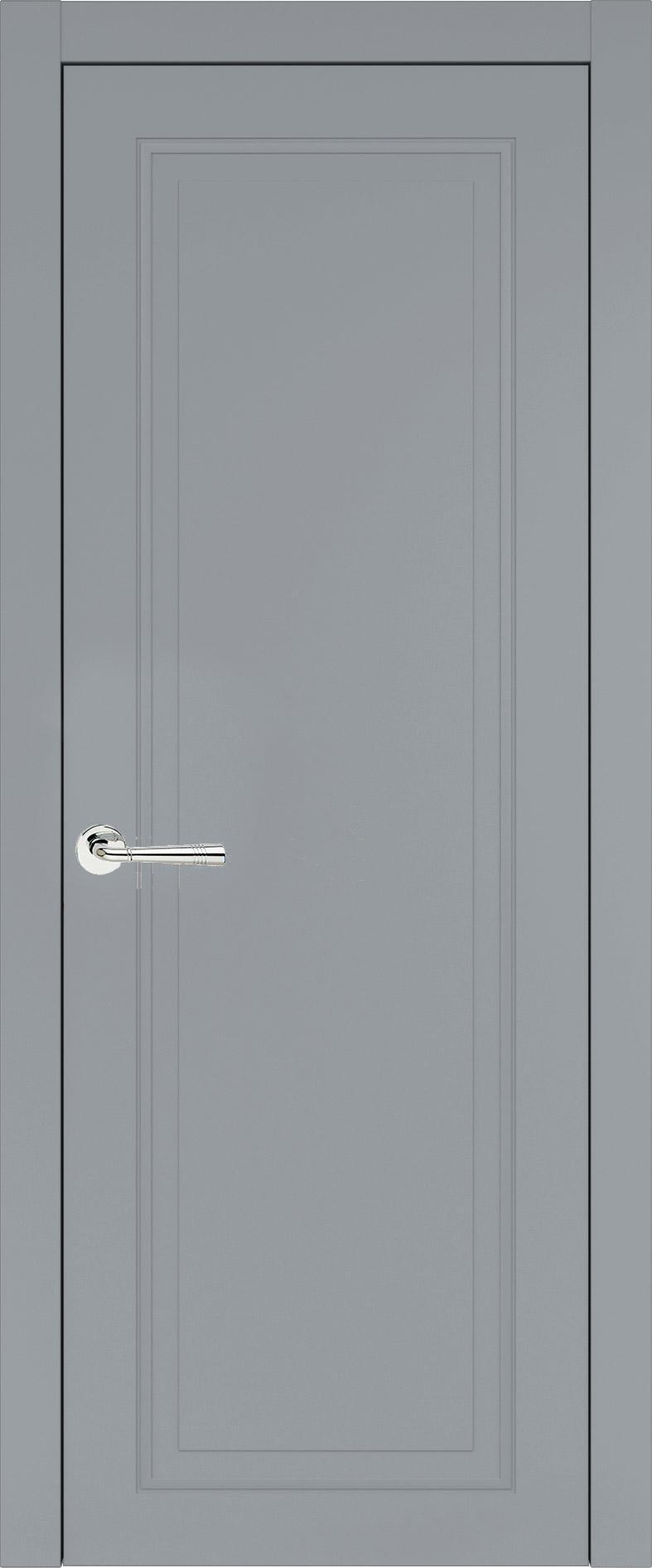 Domenica Neo Classic цвет - Серебристо-серая эмаль (RAL 7045) Без стекла (ДГ)