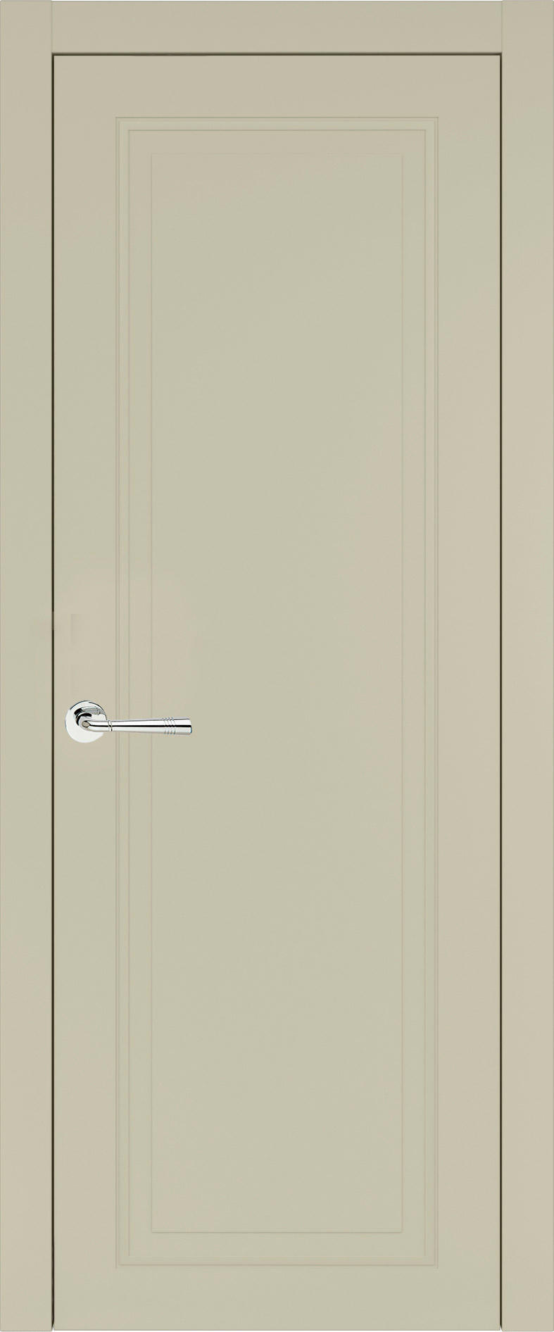Domenica Neo Classic цвет - Серо-оливковая эмаль (RAL 7032) Без стекла (ДГ)