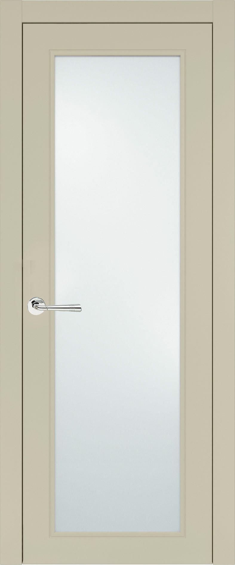 Domenica Neo Classic цвет - Серо-оливковая эмаль (RAL 7032) Со стеклом (ДО)