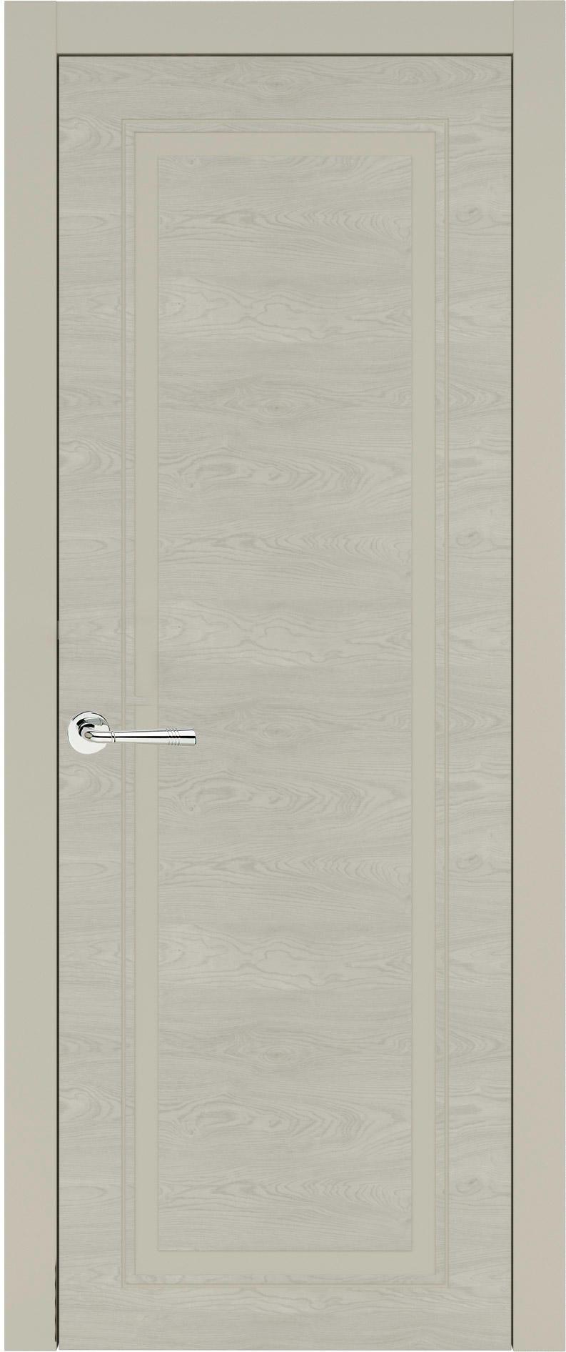 Domenica Neo Classic цвет - Серо-оливковая эмаль по шпону (RAL 7032) Без стекла (ДГ)
