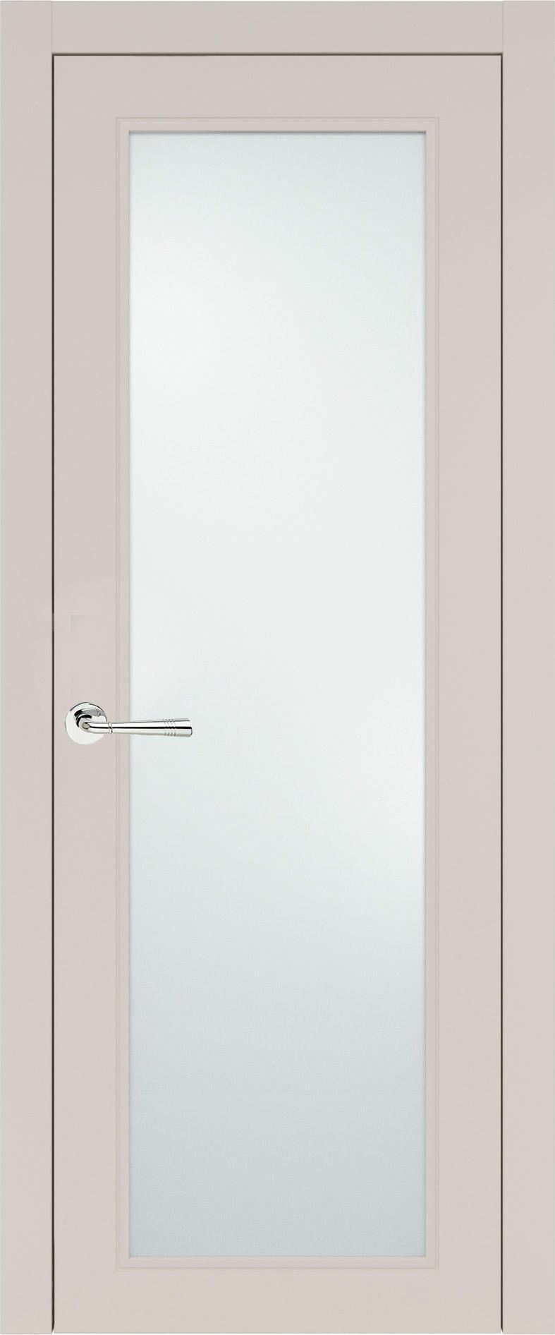 Domenica Neo Classic цвет - Жемчужная эмаль (RAL 1013) Со стеклом (ДО)